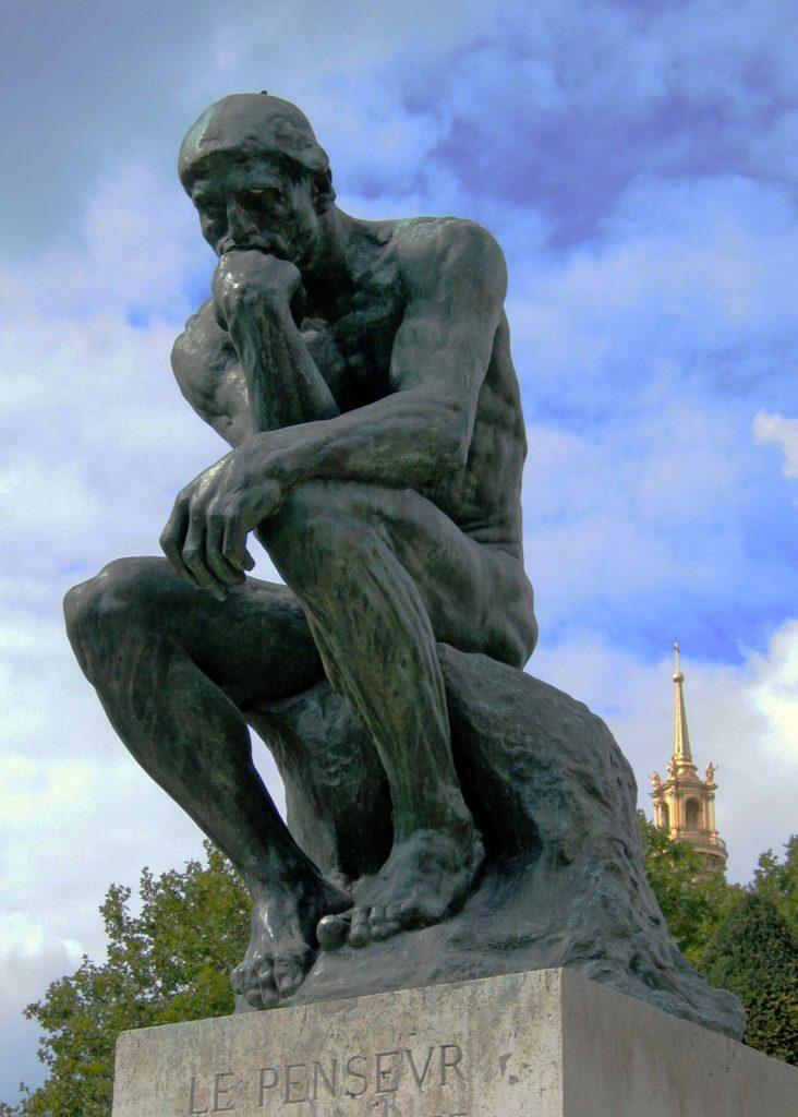 Thinker Auguste Rodin Museum Paris 1904 732x1024, Cornerstone Martial Arts & Leadership Academy Arlington TX